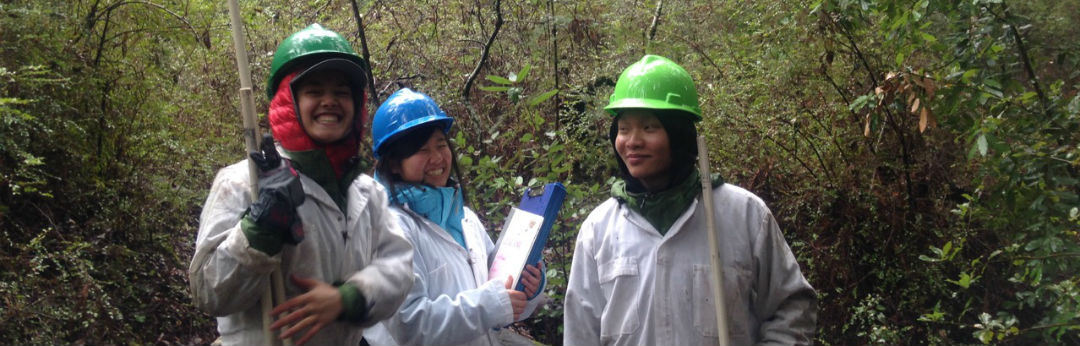 UCSC Campus Natural Reserve Continuous Forest Inventory interns