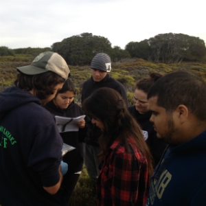 CSUMB students study at Fort Ord