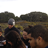 Students at UCSC Fort Ord Natural Reserve